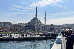 Nieuwe Moskee Istanboel Stock Foto