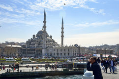 Nieuwe Moskee Istanboel Royalty-vrije Stock Foto's