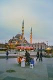 Nieuwe Moskee Istanboel Royalty-vrije Stock Foto