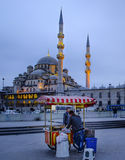 Nieuwe Moskee Istanboel Royalty-vrije Stock Afbeeldingen
