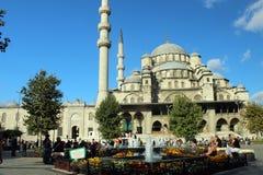Nieuwe Moskee, Istanboel, Turkije Royalty-vrije Stock Afbeelding