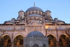 Nieuwe Moskee in Istanboel Turkije Stock Afbeelding