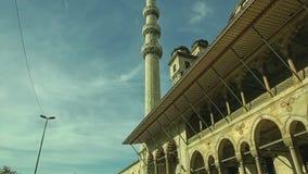 Nieuwe Moskee Yeni Cami stock footage