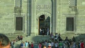 Nieuwe Moskee Yeni Cami stock videobeelden