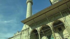 Nieuwe Moskee Yeni Cami stock video