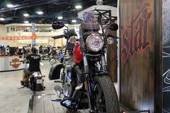 Nieuwe motorfiets stock afbeelding