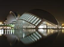 Nieuwe Musea in Valencia Stock Afbeeldingen