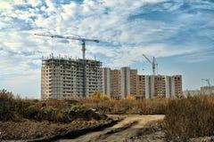 Nieuwe ontwikkeling in Lipetsk. Royalty-vrije Stock Fotografie
