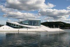 Nieuwe operahouse van Noorwegen Stock Fotografie