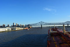 Nieuwe Orlean-brug Royalty-vrije Stock Fotografie