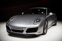 Nieuwe 2016 Porsche 911 sportscar Carrera S Royalty-vrije Stock Fotografie