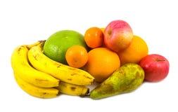 Nieuwe rang van grapefruit en ander fruit Stock Foto's