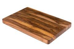 Nieuwe rechthoekige houten scherpe raad, hoogste mening Stock Afbeelding