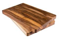 Nieuwe rechthoekige houten scherpe raad, hoogste mening Stock Afbeeldingen