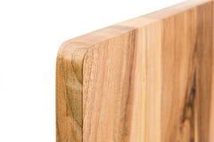 Nieuwe rechthoekige houten scherpe raad, hoogste mening Stock Foto