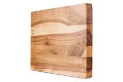 Nieuwe rechthoekige houten scherpe raad, hoogste mening Royalty-vrije Stock Foto