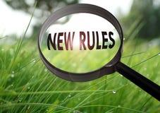 Nieuwe Regels royalty-vrije stock afbeelding