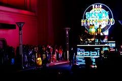 Nieuwe revolutionaire nachtparade van de UNIVERSELE PARADE van de SCHOUWSPELnacht Stock Afbeeldingen
