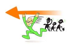 Nieuwe Richting stock illustratie
