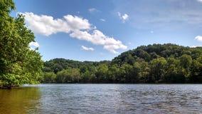 Nieuwe rivier naar huis ben ik royalty-vrije stock foto's