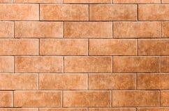 Nieuwe rode baksteen Stock Foto's