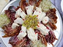 Nieuwe saladeverwezenlijking Royalty-vrije Stock Afbeeldingen