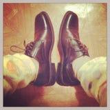 Nieuwe schoenen Royalty-vrije Stock Foto