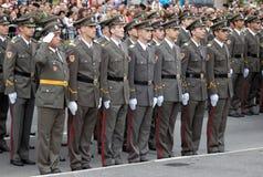 Nieuwe Serviër ambtenaar-1 Stock Afbeeldingen