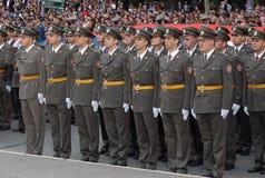 Nieuwe Servische ambtenaren Stock Afbeelding