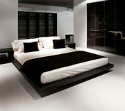 Nieuwe slaapkamer Royalty-vrije Stock Fotografie