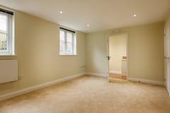 Nieuwe slaapkamer Royalty-vrije Stock Foto