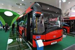 Nieuwe Solaris Urbino 12 bus Royalty-vrije Stock Fotografie