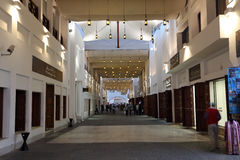 Nieuwe Souq in Manama, Bahrein Stock Afbeelding