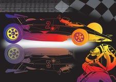 nieuwe sportwagen stock illustratie