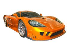 Nieuwe Sportwagen royalty-vrije stock fotografie
