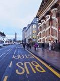 Nieuwe Stad in Edinburgh stock foto