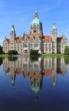 Nieuwe Stad Hall Hanover Royalty-vrije Stock Fotografie