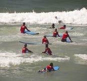 Nieuwe surfers Royalty-vrije Stock Afbeelding