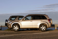 Nieuwe SUV stock foto's