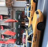 Nieuwe taxi in de Stad van New York Stock Foto