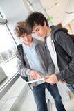 Nieuwe technologieën op school Royalty-vrije Stock Foto