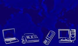 Nieuwe technologie Royalty-vrije Stock Afbeelding