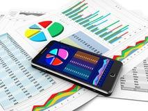 Nieuwe technologie stock illustratie