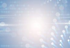 Nieuwe technologie bedrijfsachtergrond Stock Afbeelding