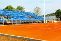 Nieuwe tennisbaan Royalty-vrije Stock Foto