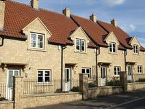 Nieuwe Terrasvormige Huizen Royalty-vrije Stock Fotografie