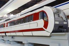 Nieuwe Trein Stock Afbeelding