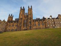 Nieuwe Universiteit in Edinburgh stock fotografie