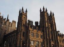 Nieuwe Universiteit in Edinburgh royalty-vrije stock fotografie