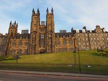 Nieuwe Universiteit in Edinburgh stock afbeelding